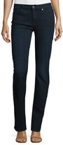 7 For All Mankind Kimmie Straight-Leg Jeans, Blue Black River