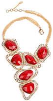 Amrita Singh Red Austrian Crystal & Goldtone Harper Necklace