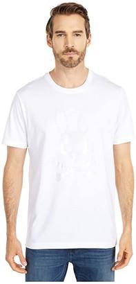 Psycho Bunny Penley T-Shirt (White) Men's Clothing