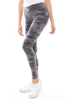Splendid Camo Zipper Legging in Shadow