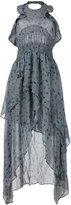 IRO floral print halter dress - women - Viscose - 36