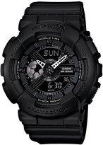 Baby-G Black XL Resin Strap Ana-Digi World Time Watch