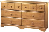 Green Baby South Shore Little Treasures Collection 6-Drawer Dresser - Country Pine