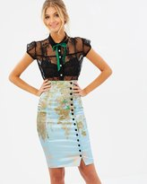 Wheels & Doll Baby Irma La Douce Pencil Skirt
