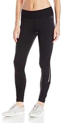 Jockey Women's Burnout Microfleece Ankle Legging