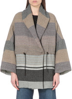 IRO Gialie cotton-blend coat