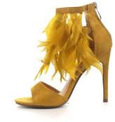 Cape Robbin Mustard Feather Heels