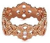 Buccellati 'Opera' diamond 18k rose gold ring