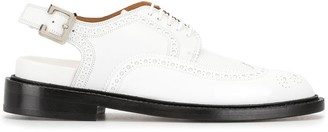 Clergerie Buckle Oxford Shoes