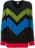 M Missoni zigzag V-neck jumper