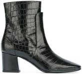 Givenchy embossed crocodile effect boots - women - Calf Leather/Leather - 38
