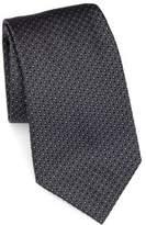 Armani Collezioni Micro Pattern Silk Tie