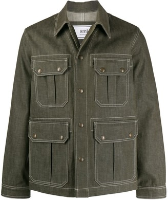 Ami Worker denim jacket