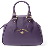 Vivienne Westwood Divina Faux Textured-Leather Tote