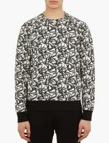 Marc Jacobs Bamboo Print Cotton Sweatshirt