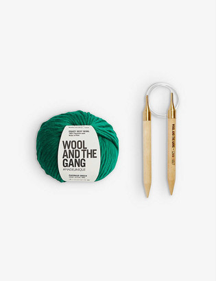 Wool And The Gang Happy Daze wool beanie-knitting kit