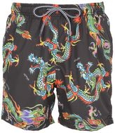 MC2 Saint Barth Special Ed. Lighting Dragon Swim Shorts