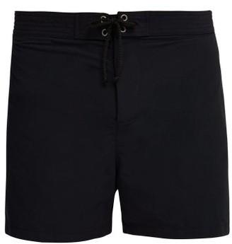 Bower - Drawstring Board Shorts - Black
