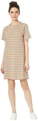 ban.do Mini Vintage Stripe T-Shirt Dress (Multi) Women's Dress