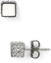Eddie Borgo Pavé Cube Stud Earrings