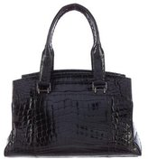 VBH Glazed Crocodile Via Bag