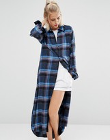 DKNY Long Shirt Robe