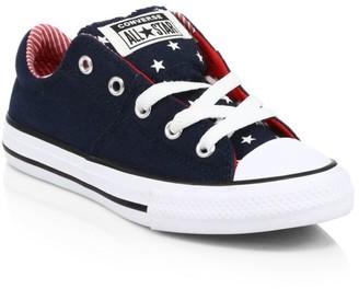 Converse Kid's Bars & Stripes Low-Top Sneakers