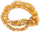 One Kings Lane Vintage 1950s Vogue Carnival Glass Bracelet