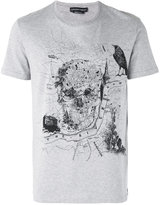 Alexander McQueen skull print T-shirt - men - Cotton - S