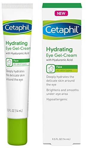 Cetaphil Hydrating Eye Gel-Cream With Hyaluronic Acid - Designed to Deeply Hydrate