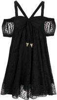 Versace Lace Design Dress