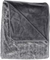 Juste Clé Grey White Fur Blanket