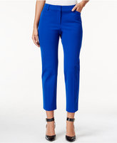 Charter Club Slim-Leg Cropped Pants, Only at Macy's