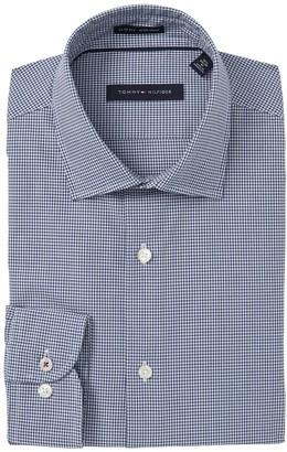 Tommy Hilfiger Gingham Slim Fit Dress Shirt