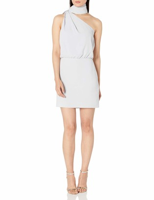 Halston Women's Scarf Neck Dress