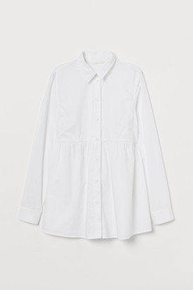 H&M MAMA Cotton shirt
