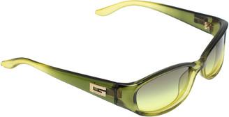 Gucci Green / Green Gradient GG 2456/S Rectangular Sunglasses