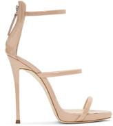 Giuseppe Zanotti Pink Patent Coline Sandals