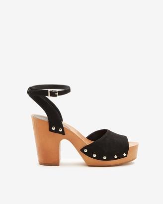 Express Open Toe Platform Sandals