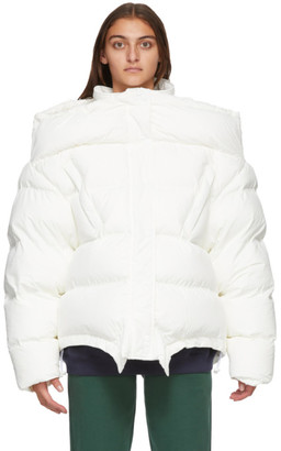 Vetements Off-White Upside Down Jacket