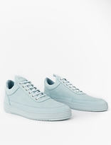 Filling Pieces Baby Blue Low Top Perforated Sneakers