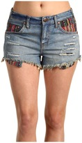 Free People - Baja Denim Cut-Off Short (Fiesta Wash) - Apparel