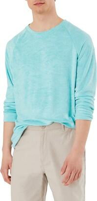 Onia Pinstripe Linen Blend Shorts