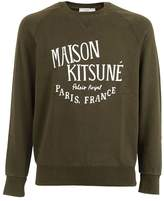 Kitsune Maison Logo Print Sweatshirt