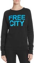 Freecity FREE CITY STR8UP Raglan Sweatshirt