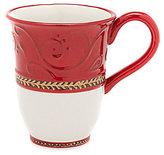 Fitz & Floyd Damask Holiday Mug