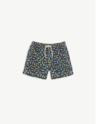 MC2 Saint Barth Pineapple print swim shorts 4-10 years