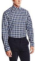 Seidensticker Men's BD CLUB TAPE Regular Fit Button Down Long Sleeve Formal Shirt