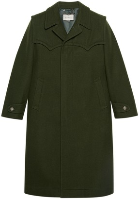 Gucci Wool loden coat
