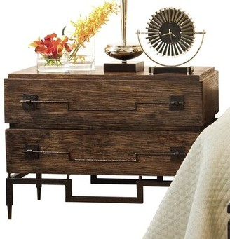 Global Views 2 Drawer Wide Chest